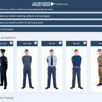 Drill and Uniform->Uniform